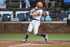 Mathes collects five hits, ties record in rout of the Chili Peppers